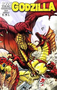 Cover Thumbnail for Godzilla (IDW, 2012 series) #4 [Cover B Matt Frank]