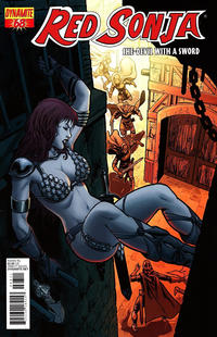 Cover Thumbnail for Red Sonja (Dynamite Entertainment, 2005 series) #68 [Walter Geovani Regular Cover]
