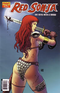 Cover Thumbnail for Red Sonja (Dynamite Entertainment, 2005 series) #62 [Cover A]