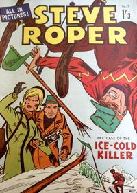 Cover Thumbnail for Steve Roper (Magazine Management, 1959 ? series) #25