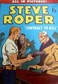 Cover Thumbnail for Steve Roper (Magazine Management, 1959 ? series) #24