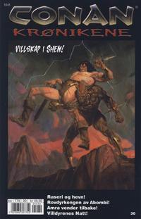 Cover Thumbnail for Conan Krønikene (Bladkompaniet / Schibsted, 2005 series) #30