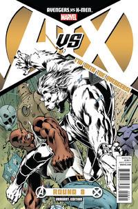 Cover for Avengers vs. X-Men (Marvel, 2012 series) #8