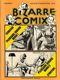 Cover for Bizarre Comix (Bélier Press, 1975 series) #13 - Pleasure Bound