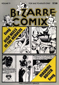 Cover Thumbnail for Bizarre Comix (Bélier Press, 1975 series) #11 - High Heels in the Heavens; Madame Adista