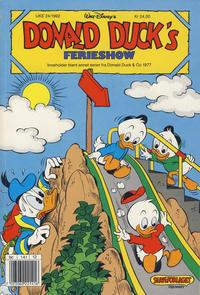 Cover Thumbnail for Donald Ducks Show (Hjemmet / Egmont, 1957 series) #[75] - Ferieshow 1992