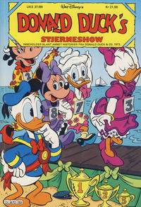 Cover Thumbnail for Donald Duck's Show (Hjemmet, 1957 series) #stjerneshow 1989