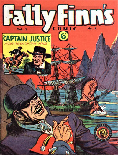 Cover for Fatty Finn's Comic (Syd Nicholls, 1945 series) #v3#8 (32)