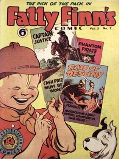 Cover for Fatty Finn's Comic (Syd Nicholls, 1945 series) #v3#7 (31)