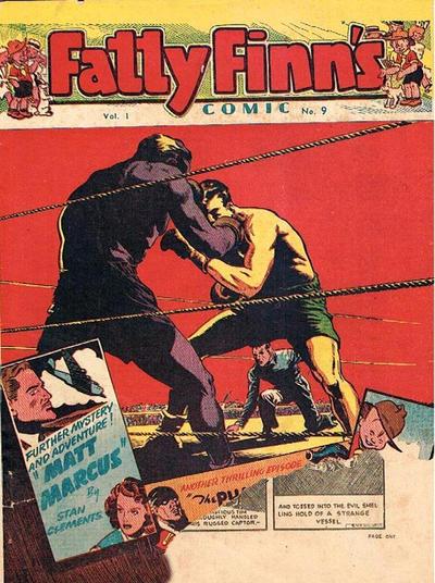 Cover for Fatty Finn's Comic (Syd Nicholls, 1945 series) #v1#9