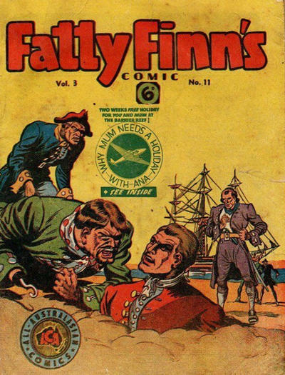 Cover for Fatty Finn's Comic (Syd Nicholls, 1945 series) #v3#11 (35)