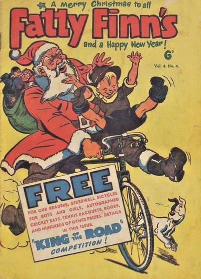 Cover for Fatty Finn's Comic (Syd Nicholls, 1945 series) #v4#4