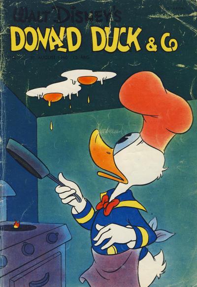 Cover for Donald Duck & Co (Hjemmet / Egmont, 1948 series) #36/1960