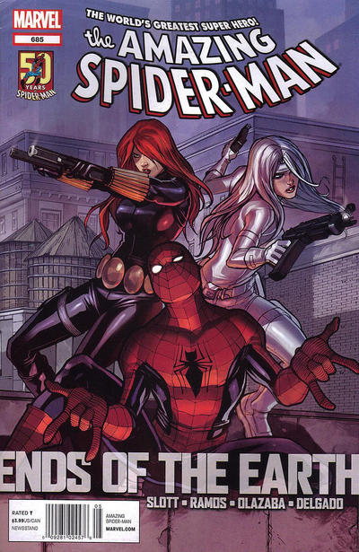 Cover for The Amazing Spider-Man (Marvel, 1999 series) #685
