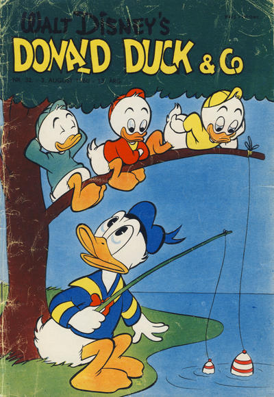 Cover for Donald Duck & Co (Hjemmet / Egmont, 1948 series) #32/1960