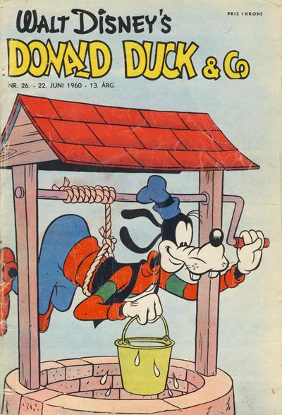 Cover for Donald Duck & Co (Hjemmet / Egmont, 1948 series) #26/1960
