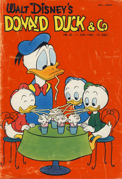 Cover for Donald Duck & Co (Hjemmet / Egmont, 1948 series) #23/1960