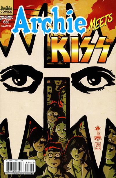 Cover for Archie (Archie, 1959 series) #630 [Francesco Francavilla cover]