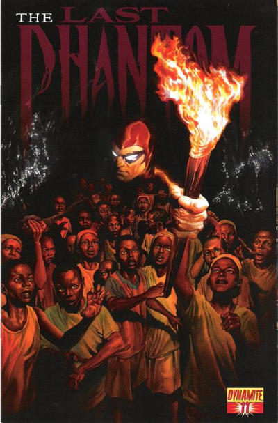 Cover for The Last Phantom (Dynamite Entertainment, 2010 series) #11 [Alex Ross Main Cover]