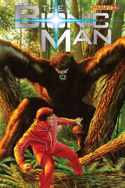 Cover for Bionic Man (Dynamite Entertainment, 2011 series) #12 [Virgin Art variant]