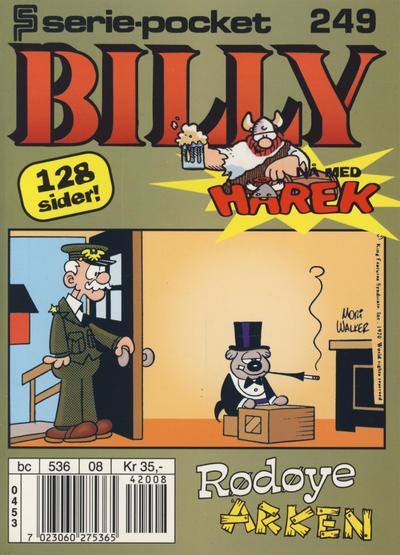 Cover for Serie-pocket (Hjemmet / Egmont, 1998 series) #249 [Reutsendelse]