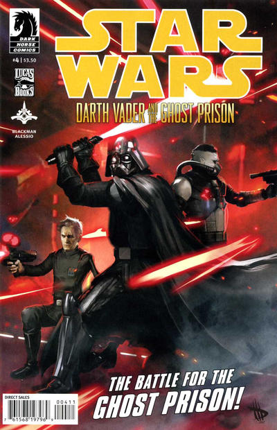 Cover for Star Wars: Darth Vader and the Ghost Prison (Dark Horse, 2012 series) #4