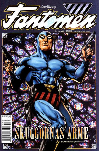 Cover for Fantomen (Egmont, 1997 series) #9/2008