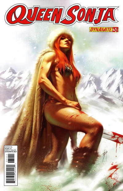Cover for Queen Sonja (Dynamite Entertainment, 2009 series) #31