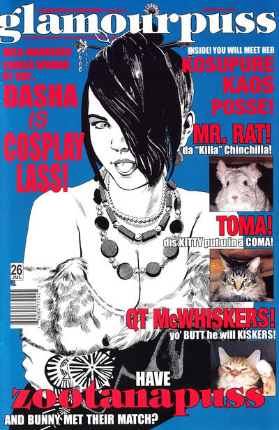 Cover for glamourpuss (Aardvark-Vanaheim, 2008 series) #26