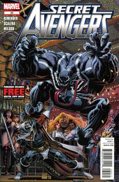 Cover for Secret Avengers (Marvel, 2010 series) #30