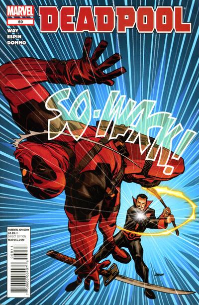 Cover for Deadpool (Marvel, 2008 series) #59