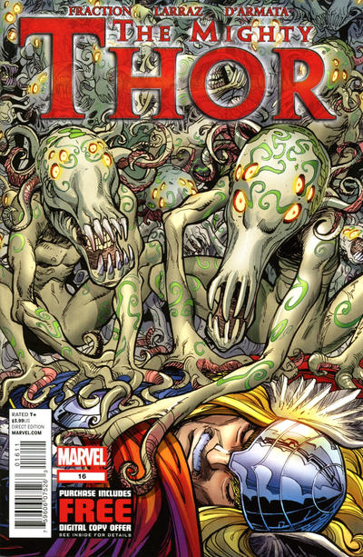 Cover for The Mighty Thor (Marvel, 2011 series) #16