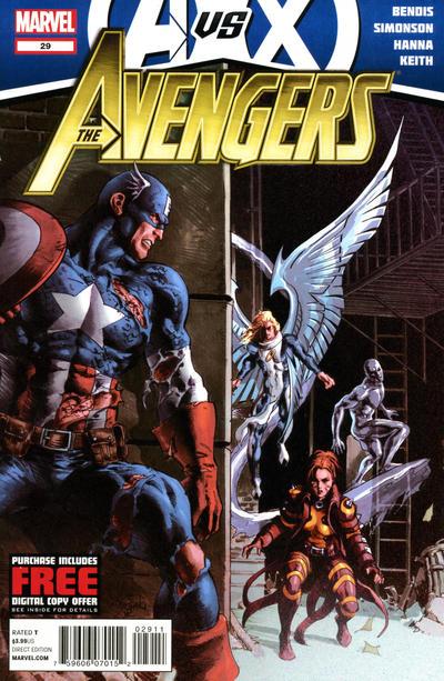 Cover for Avengers (Marvel, 2010 series) #29