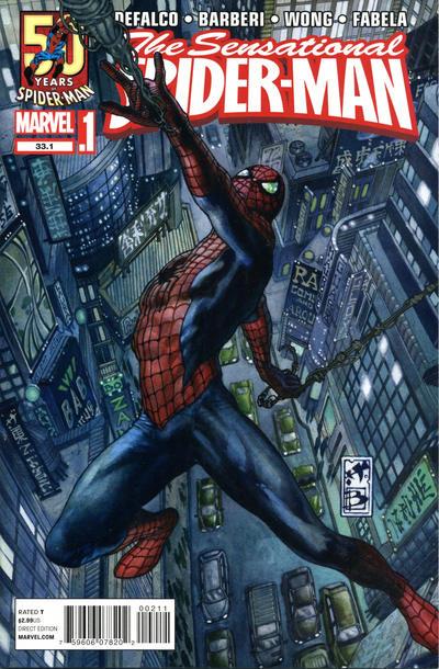 Cover for Sensational Spider-Man (Marvel, 2012 series) #33.1