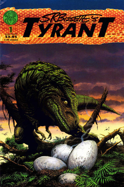 Cover for Tyrant (Spiderbaby Grafix & Publications, 1994 series) #1 [2nd printing]