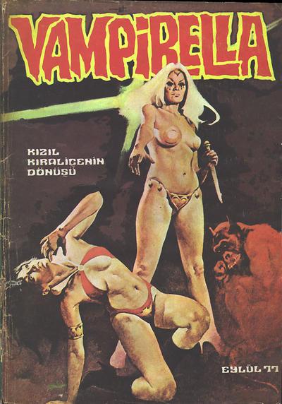 Cover for Vampirella (Mehmet K. Benli, 1976 series) #[27]