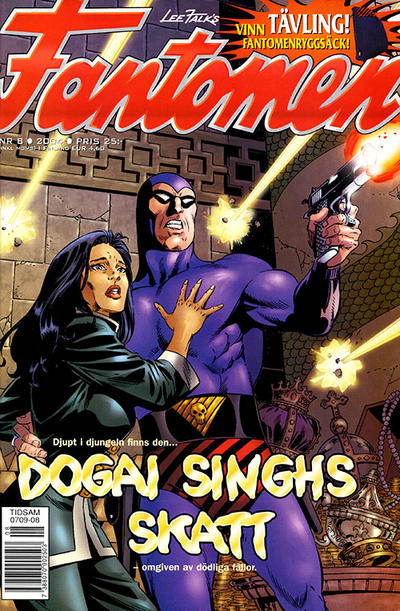 Cover for Fantomen (Egmont, 1997 series) #8/2004