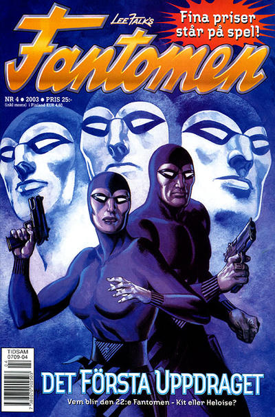 Cover for Fantomen (Egmont, 1997 series) #4/2003
