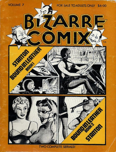 Cover for Bizarre Comix (Bélier Press, 1975 series) #7 - Bound in Leather