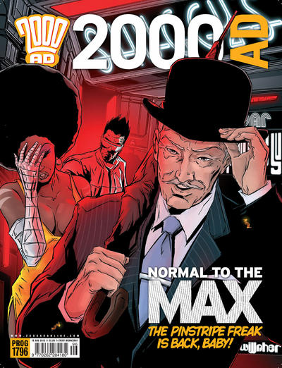 Cover for 2000 AD (Rebellion, 2001 series) #1796