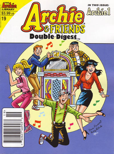 Cover for Archie & Friends Double Digest Magazine (Archie, 2011 series) #19 [Newsstand]