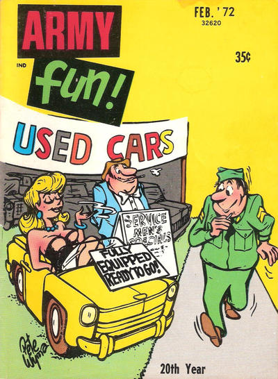 Cover for Army Fun (Prize, 1952 series) #v11#2
