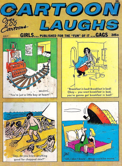 Cover for Cartoon Laughs (Marvel, 1962 series) #v6#4