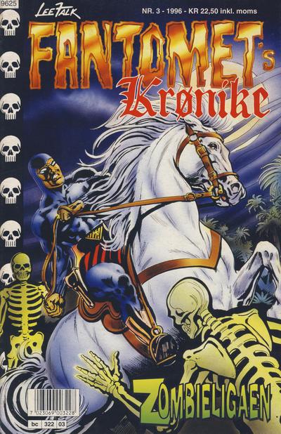Cover for Fantomets krønike (Semic, 1989 series) #3/1996