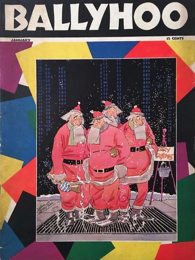 Cover for Ballyhoo (Dell, 1931 series) #v3#6