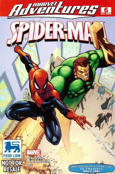 Cover for Marvel Adventures Spider-Man (Marvel, 2005 series) #6