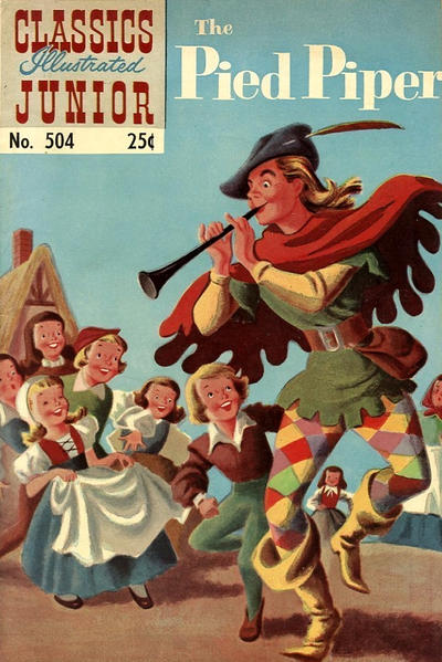 Cover for Classics Illustrated Junior (Gilberton, 1953 series) #504 [HRN 576]