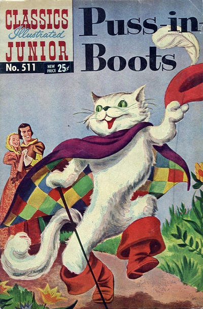 Cover for Classics Illustrated Junior (Gilberton, 1953 series) #511 - Puss In Boots