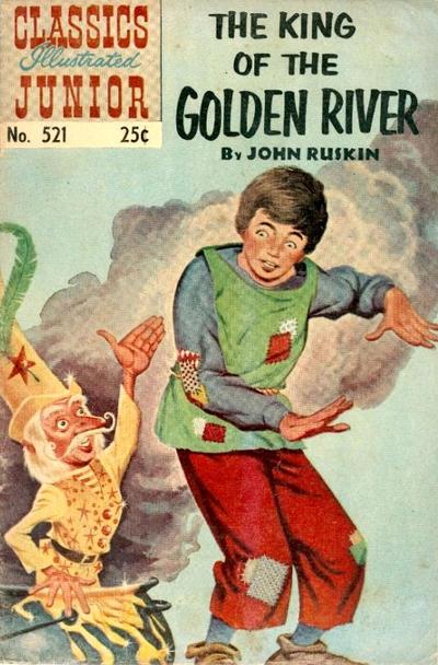 Cover for Classics Illustrated Junior (Gilberton, 1953 series) #521 [HRN 576]
