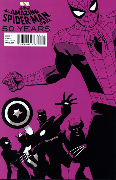 Cover for The Amazing Spider-Man (Marvel, 1999 series) #692 [2nd Printing Variant Cover]